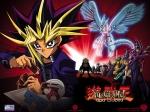 Mit welcher Karte besiegt Yugi Kaiba, der 3 Weiße Drachen auf dem Spielfeld hat? (eine der ersten Folgen)