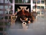 Triple H hat es mal geschafft, den Intercontinental Championchip und den World Heavyweight Championchip zu besitzen.