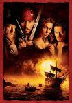 Was steht auf dem Schild, wo die Piraten aufgehängt worden sind?