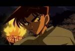 Ok, jetzt wird es etwas schwieriger: Von wem hat Heiji seine Narbe hinterm Ohr?