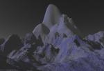 """Die höchste Erhebung auf dem Mond ist der """"Olympus Mons""""."""