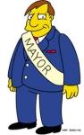 Wie heisst der Bürgermeister von Springfield?