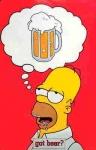 Was für eine Biermarke trinkt Homer am liebsten?