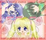Zur Einführung, in welchem Teil des Mangas traf Rina auf Hanon und Luchia?