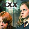 """Was denkt er über die """"Beziehung"""" zwischen Ron und Hermine in HP?"""