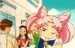 183. Ferien am See: Als Bunny und Chibi-Chibi Minako beim Planschen im Wasser mit der Sturmflut angreifen, kontert Minako danach. Womit?