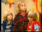 Am Ende der Serie ist Michelle das jüngste Kind im Hause Tanner.