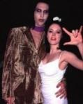 Vor ihrer turbulenten dreijährigen Beziehung mit Rockstar Marilyn Manson war sie mit dem Schauspieler...liiert!
