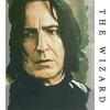 Wer war Snapes Erzfeind, als er noch jünger war?