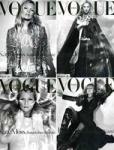 Auf welchem Cover war das Topmodel bis jetzt meisten?