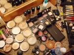 Wie schminken Sie sich?
