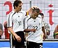 Er spielt beim FC Bayern.