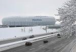 Es gibt 69.901 überdachte Plätze (inkl.VIP's) in der Allianz Arena in München.