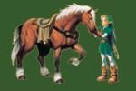 Wie heißt Link's Pferd?