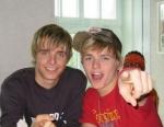 Sind Richie und Chris die besten Freunde?