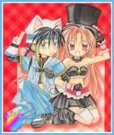 Vorletzte Frage! ^^ Wie heißt das Todesengelpaar Meroko und Takuto?