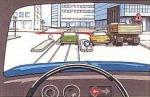 Alle drei Fahrzeuge wollen links abbiegen. Wer hat sich richtig eingeordnet?