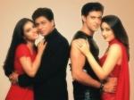 Die Schauspieler auf dem Bild heissen Kajol, Shahrukh Khan, Kareena Kapoor, Hrithik Roshan?