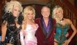 Wieso war Hugh Hefner mit Holly, Bridget und Kendra in New York?
