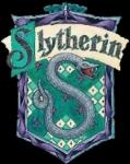 Was sondert die Hexe im Slytherin-Gemeinschaftsraum ab, wenn man Flipendo auf sie anwendet?