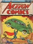 Wann erschien das erste Heft von Superman?