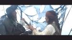 Auf der Pearl schaut Barbossa durch das Fernrohr zur 'Intercepter' hinüber. Jack stellt sich vor das Rohr und beginnt zu sprechen. Was sagt
