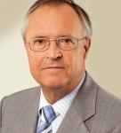 Welchen Posten hatte der hier abgebildete Hans Eichel unter der Regierung Schröder inne?