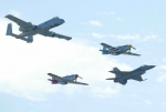 Welche Flugzeuge sind hier zu sehen?