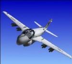 Wie viele Piloten sitzen in der Grumman A6 Intruder?