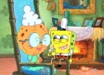 Was erhält Spongebob von seiner Großmutter als Geschenk, nachdem er sich für erwachsen erklärt hat?