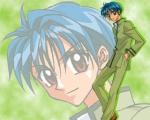 Chiaki hat erst später zur Seite der guten gewechselt.