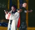 Und diese beiden hübschen Polizisten - aus welchem Film stammen sie?