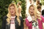 Erst mal eine leichte Frage: Wer verkleidet sich als Britney und Tiffany Wilson?