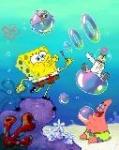 Wie heißt die Seifenblase aus der sich Spongebob ein Freund gemacht hat?