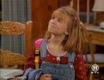 Am Ende der Serie ist Michelle 10 Jahre alt.