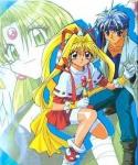 Jeanne wird von Chiaki in der letzten Folge gerettet und sie gewinnen den Kampf gegen das Böse.