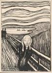 Wie lautet der Name des weltbekannten Bildes von Edvard Munch?