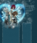 Sora verliert sein Herz, während er Kairi vor Riku beschützt.