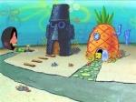 Wie heißt die Stadt in der Spongebob wohnt?