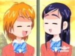 Welche Schule besuchen Honoka und Nagisa?