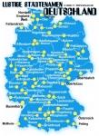 Geographie-Test Deutschland