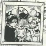 Mit wem bildet Naruto Team7?
