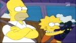 Lisa Simpson hat ein gutes Verhältnis mit ihrem Vater.