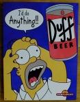 Knecht Ruprecht war in einer Folge der Simpsons einmal Maskottchen von der Biermarke DUFF.