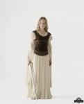 Mit wem ritt Merry von Rohan auf nach Gondor und somit in den Krieg?