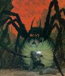 Zu welcher Spinne will Gollum/Smeagol Frodo und Sam führen?
