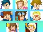 Was weißt du über die 1. Digimon-Staffel?