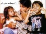 Was Leichtes zum Einsteigen:Wie heißen Shahrukh Khans Kinder?