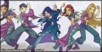 Die Ex-Wächterinnen hießenKadma, Cornelia, Carolin, Yeolien und Will