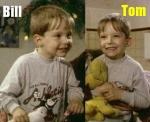 Bill und Gustav haben mit 5 in einem Film mitgespielt.